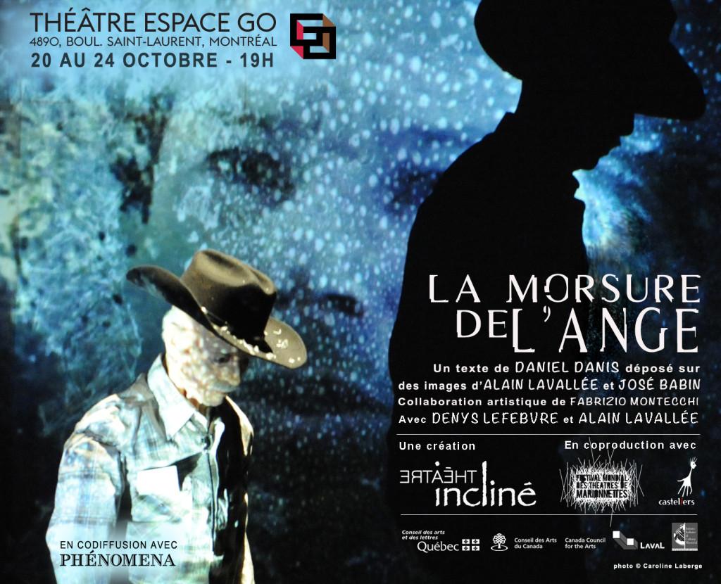 LA MORSURE DE L'ANGE en France et au Québec…