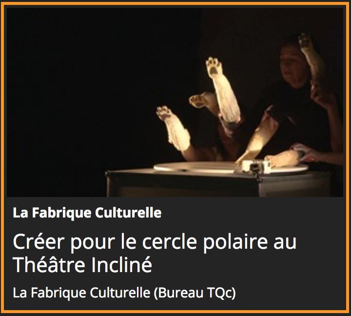 Nordicité à la Fabrique culturelle